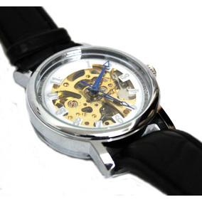 Reloj Clasico Circular Skeleton Automatico Tipo Rado