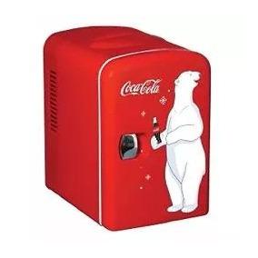 Mini Refrigerador Personal Para 6 Latas Portatil Coca Cola