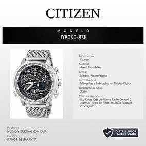 Reloj Citizen Navihawk Eco Drive Jy8030-83e 60524