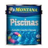 Pintura Piscina Caucho Clorado Montana Blanco