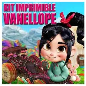 Kit Imprimible Vanellope Ralph El Demoledor Editable Powe2x1