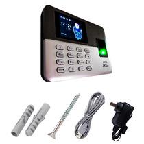 Reloj Checador Biometrico Huella Dijital Lx50,