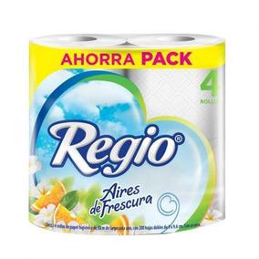 Colchón Papel Higiénico Regio Aires De Frescura 12 Paquetes