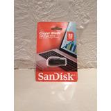 Usb Sandisk 32gb- Cruzer Blade Usb Flash Drive