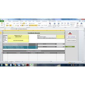 Plantilla Conciliación Bancaria En Excel