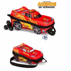 Mochila Escolar 3d Com Lancheira Maxtoy V8