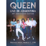 Queen Live In Argentina 1981 (2 Dvd