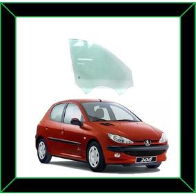 Vidro Porta Dianteiro Direito Peugeot 206 98/08 4 Portas