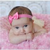 8 Peças Faixa Tiara Laço Lacinho Bebê Menina Cabelo Criança