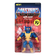 Masters Of The Universe He-man Vintage Mer Man Super7