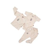 Ropa Bebe Set Organic De 3 A 6 Meses Accesorios Baby Mink