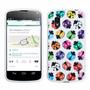 Estuche Soft Tpu Rainbow Beetles Lady Bugs Para Lg Nexus 4