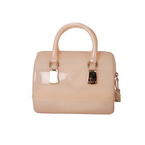 Furla Candy Galleta Mini Pvc Satchel, Magnolia/pálido Color