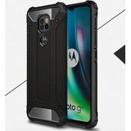 Capa Anti-impacto Hybrid P/ Motorola Moto G9 Play Preta