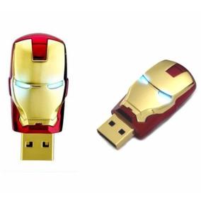 Pen Drive 8gb Personalizado Homem De Ferro