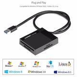 Lector De Memorias Compact Flash Usb 3.0 Sd Micro Sd Pro Duo