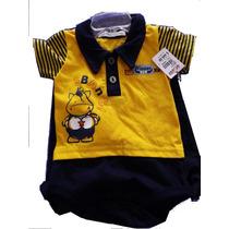 Mameluco Para Niño Bebé Pantalon Juego Conjunto Amarillo