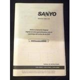 Manual De Usuario Sanyo Televisor Color Lcd