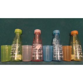 Botella Para Agua 600ml Colores Azul, Verde, Rosa, Naranja