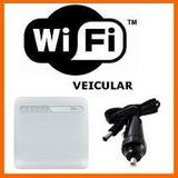 Modem Roteador Wifi Veicular Bus Van   3g 4g C/ Adaptador
