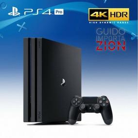 Playstation 4 Pro 1tb + Joystick Entrega En Mendoza