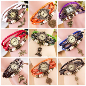 Lote 10 Relojes Vintage Retro Dama Moda + Envio Gratis