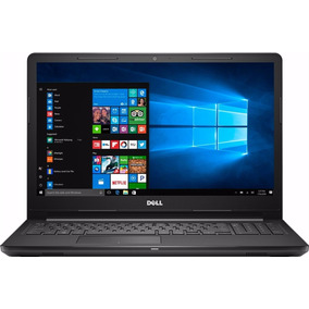 Notebook Dell I3567-3629blk-pus I3 2.4ghz 6gb 1tb 15.6 Win10