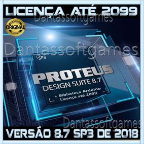 Proteus 8.7 Sp3 2018 Licença Até 2099 Em Seu Nome + Arduíno