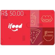 Ifood Card 50 Reais Gift Card