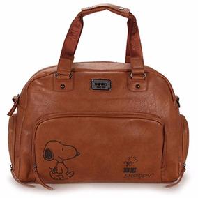 Bolsa Sacola Academia Viagem Snoopy Sp2605