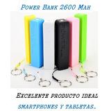 Cargador Portátil Power Bank Nuevo Batería Externa 2600 Mah