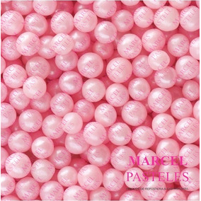Perlas Comestibles Sprinkles Rosa
