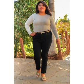 Pantalon Cintura Corte Recto (tallas Extra Grandes)