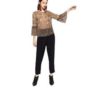 Blusa Zara Estampada