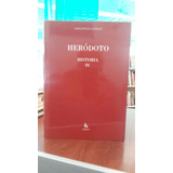 Herodoto-historia Iv-biblioteca Clasica Gredos-lib.merlin