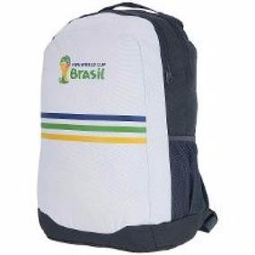 Mochila adidas Fifa 2014 - Cinza/branco