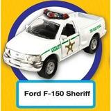 Autos De Policía - Colección A Escala, 4 Modelos