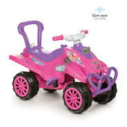 Carrinho De Brinquedo Cross Turbo Rosa Calesita