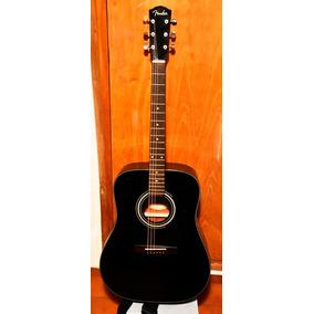 Guitarra Electroacústica Fender Dg 11e Blk Con Funda
