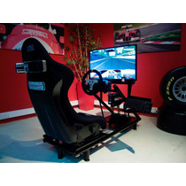 Simulador De Manejo De Carrera Pro-race Cockpit Logitech, Tc