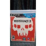 Resistance 3 Ps3 Fisico