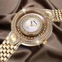 Reloj Especial Dama (estilo)- Oro Y Diam Esferas Internas!