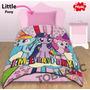 Sábana Y Frazada Mi Pequeño Pony ® Set Little + Envío Gratis