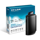 Tp-link N300 300mbps Wireless N Docsis 3.0 Cable Módem Ro...