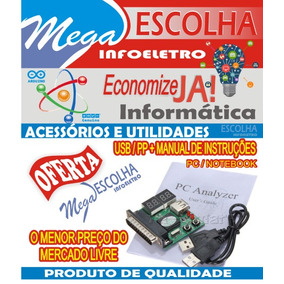 Placa De Diagnostico Debug Card Pc Analyser Mb Paralelo Usb