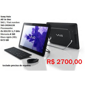 Computador All In One Sony Vaio