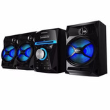Philco Sap600 Minicomponente C/subwoofer 200w Cd Usb Mp3