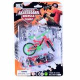 1 Bicicleta + 1 Skate Dedo + Acessórios Menor Preço Barato