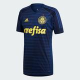 Camisa Original Palmeiras Azul Uniforme Iii - $ De Revenda