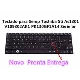Teclado Para Semp Toshiba Sti As1301 V109302ak1 Pk130gf1a14